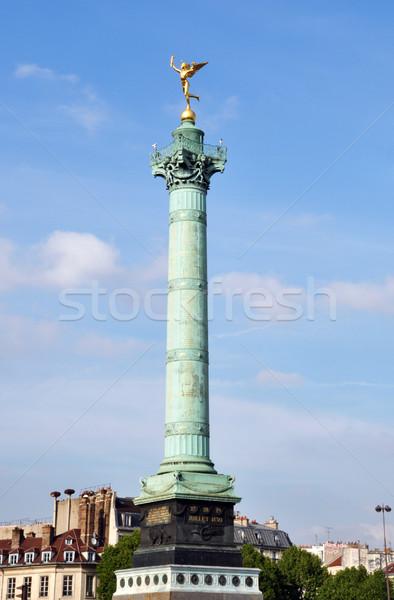 Bastille square, Paris Stock photo © dutourdumonde