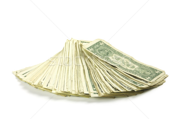 One dollar bills Stock photo © dutourdumonde