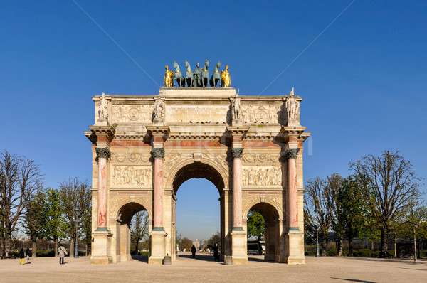 The Arc de Triomphe du Carrousel Stock photo © dutourdumonde