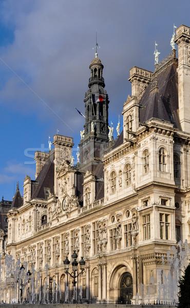 отель Париж город зале Франция путешествия Сток-фото © dutourdumonde