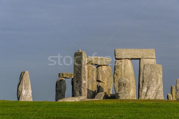Stonehenge Angleterre paysage Rock Europe ruines Photo stock © dutourdumonde