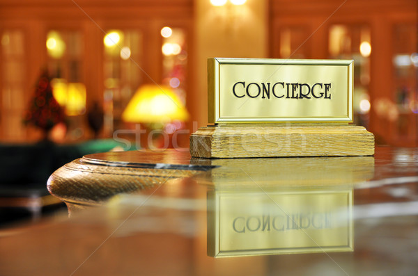 Concierge desk Stock photo © dutourdumonde
