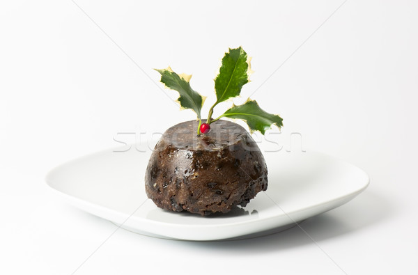 Christmas pudding Stock photo © dutourdumonde