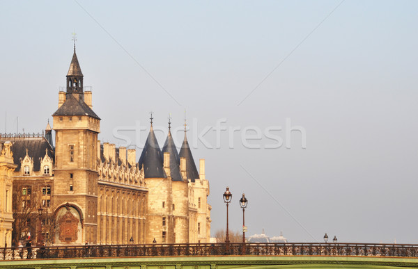 The Conciergerie in Paris Stock photo © dutourdumonde