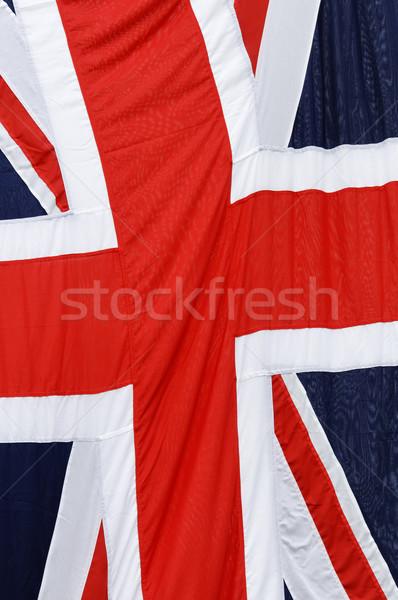 Union jack Verenigd Koninkrijk vlag achtergrond Rood kleur Stockfoto © dutourdumonde