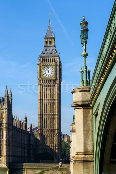Elizabeth Tower in London, UK Stock photo © dutourdumonde