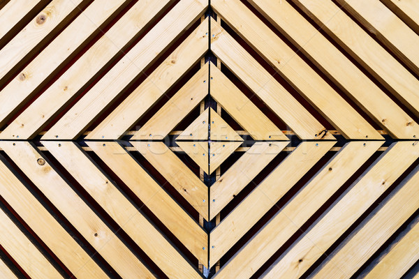 Szimmetrikus gyémánt fa minta minta természetes fa Stock fotó © dutourdumonde