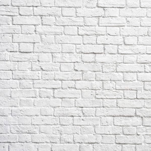 Fehér téglafal tökéletes tér fénykép épület Stock fotó © dutourdumonde