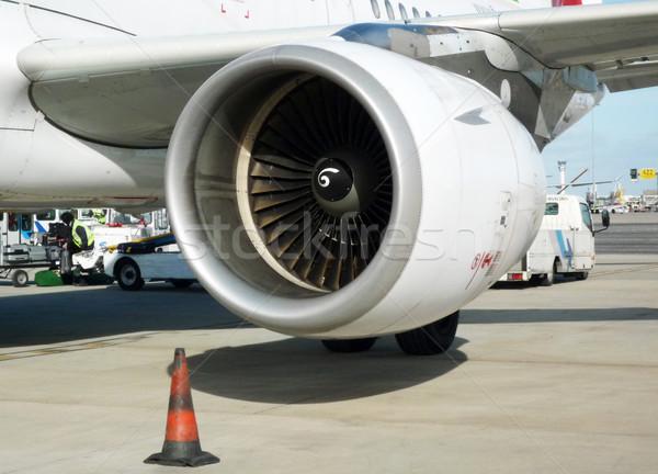 Detail of an airplane Stock photo © dutourdumonde