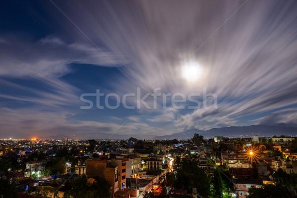 Full moon night in Patan, Nepal Stock photo © dutourdumonde