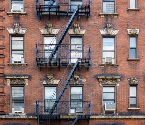 建物 ニューヨーク市 レンガ 米国 市 ストックフォト © dutourdumonde