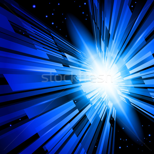 Blue Radiance Stock photo © dvarg