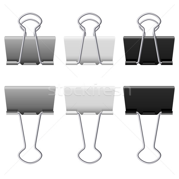 Binders clips Stock photo © dvarg