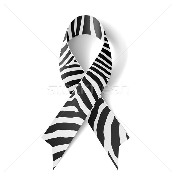 Zebra-print ribbon Stock photo © dvarg