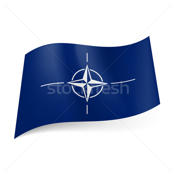 Flag of NATO Stock photo © dvarg