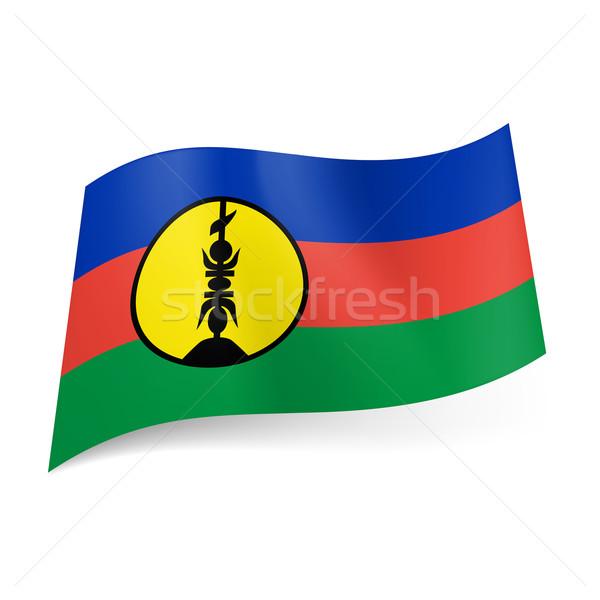 Flag of New Caledonia Stock photo © dvarg