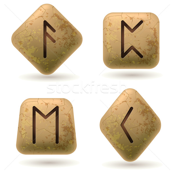 Runes Stock photo © dvarg