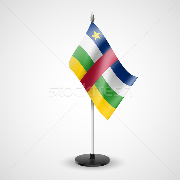 Table flag of Central African Republic Stock photo © dvarg