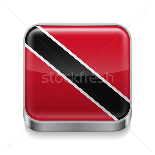 Metal  icon of Trinidad and Tobago Stock photo © dvarg