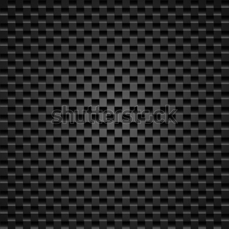 Gerçekçi karanlık karbon karbon fiber soyut teknoloji Stok fotoğraf © dvarg