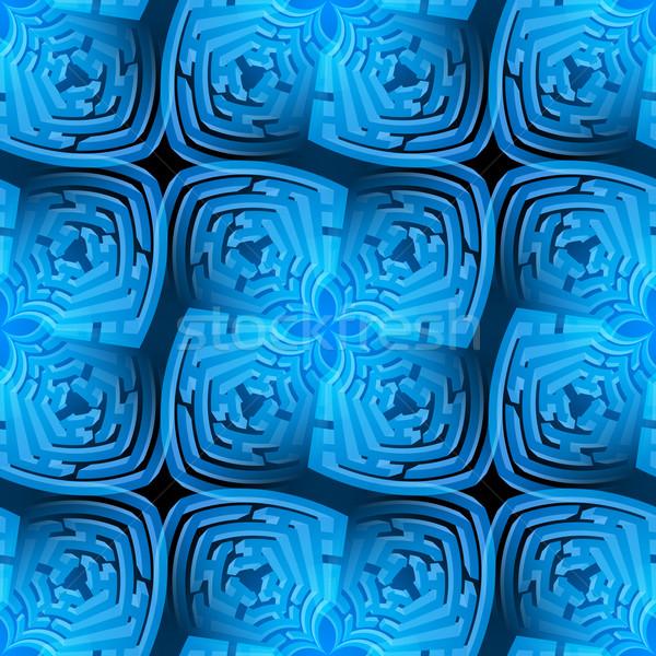 Abstract maze background  Stock photo © dvarg