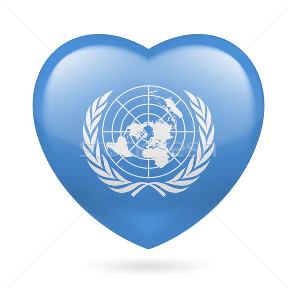 Stok fotoğraf: Kalp · ikon · sevmek · bayrak · dizayn · imzalamak
