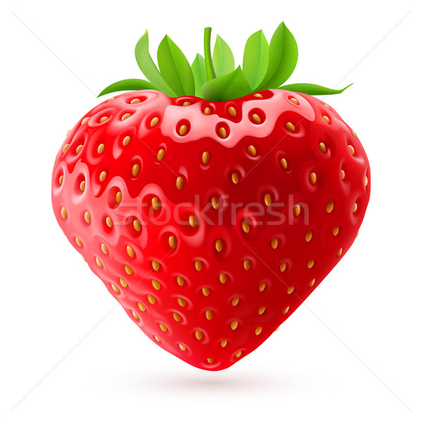 Appetizing strawberry Stock photo © dvarg
