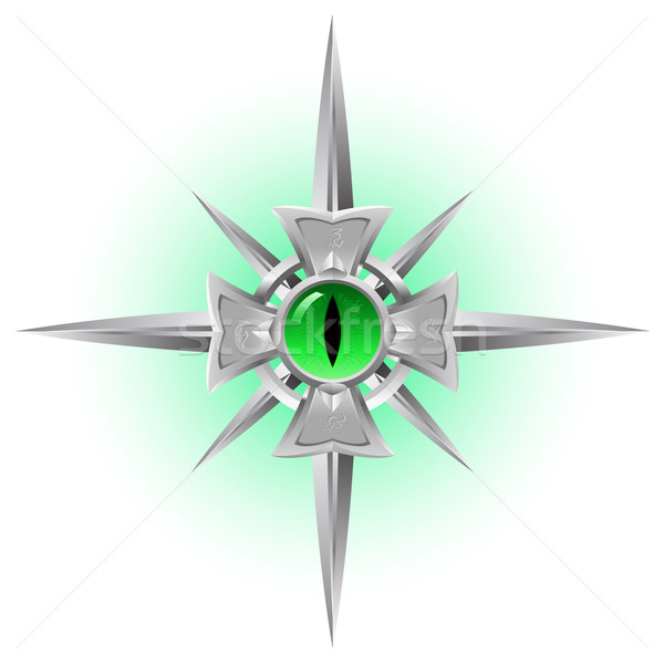 Amulet. Dragon Eye. Stock photo © dvarg