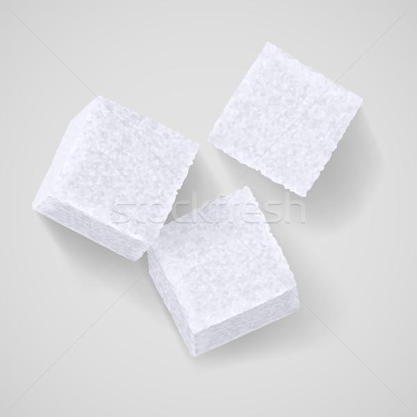 Lump sugar Stock photo © dvarg