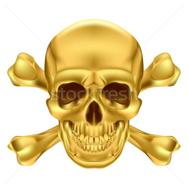 Skull and crossbones Stock photo © dvarg