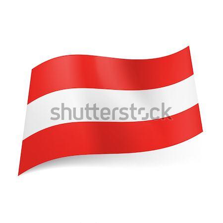 Zászló Lettország keskeny fehér csík sötét Stock fotó © dvarg