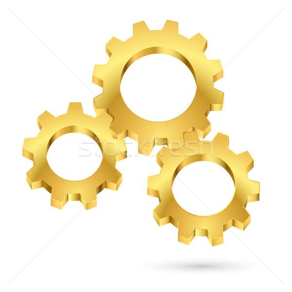 Cogwheel Stock photo © dvarg