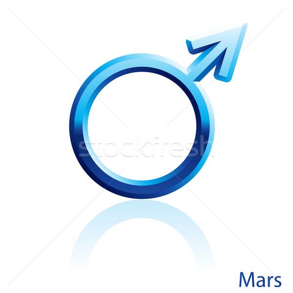 Mars sign. Stock photo © dvarg