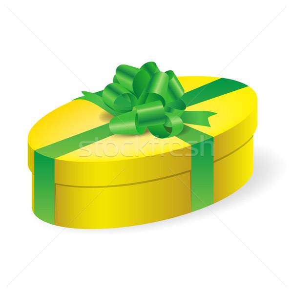 Gift box Stock photo © dvarg