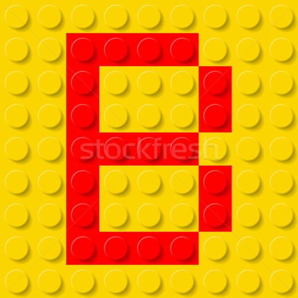 Letter B in construction kit. Stock photo © dvarg