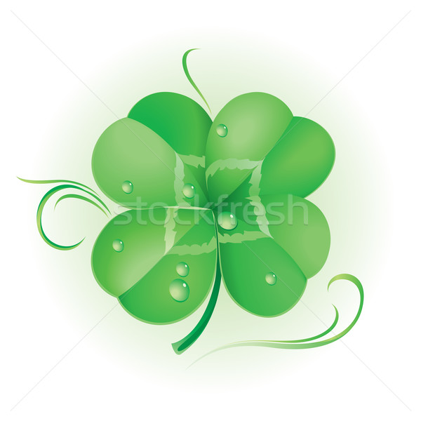 Ierse Shamrock St Patrick's Day textuur voorjaar abstract Stockfoto © dvarg