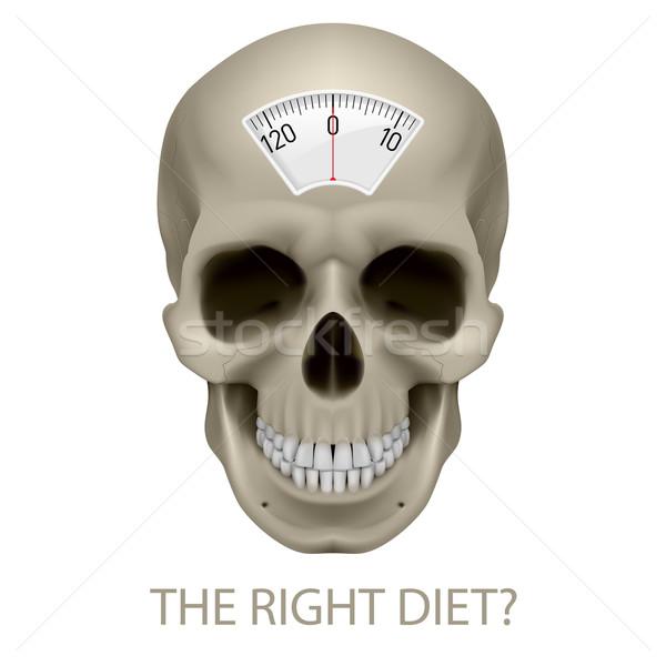 Unhealthy diet. Stock photo © dvarg