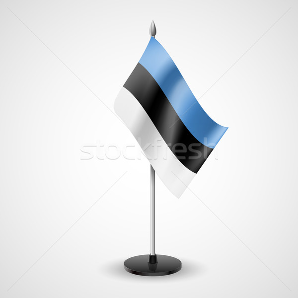 Table flag of Estonia Stock photo © dvarg