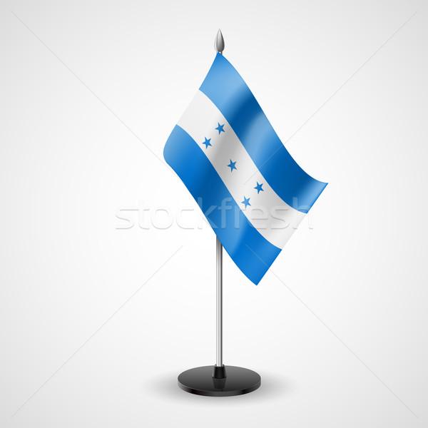 Tavola bandiera Honduras mondo conferenza desk Foto d'archivio © dvarg