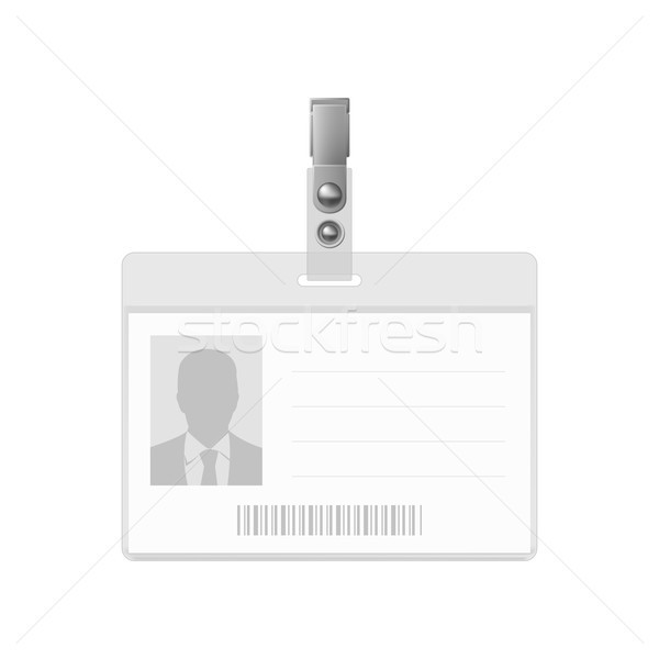 Blank badge. Stock photo © dvarg