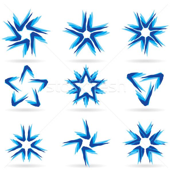 Set diverso stelle icone 13 design Foto d'archivio © dvarg