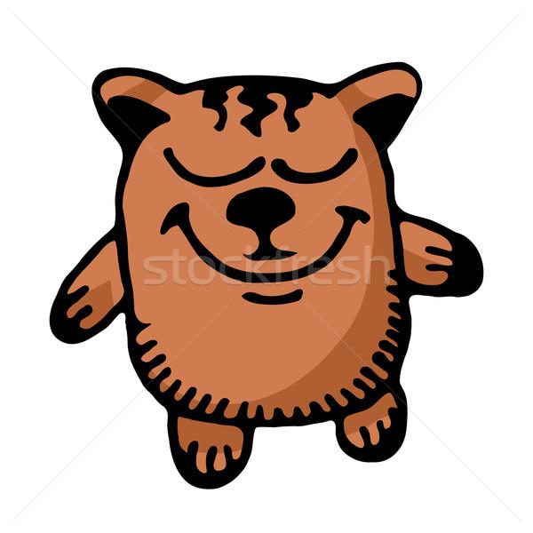 Cartoon bear Stock photo © dvarg