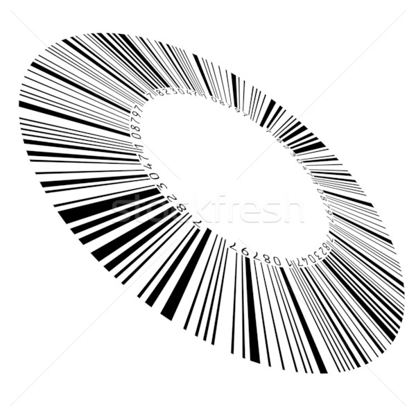 Circular bar code Stock photo © dvarg