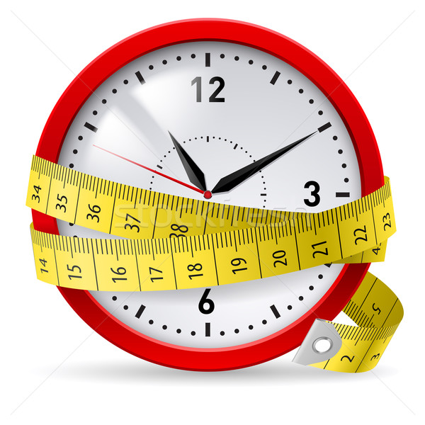 Diet with time limit. Stock photo © dvarg