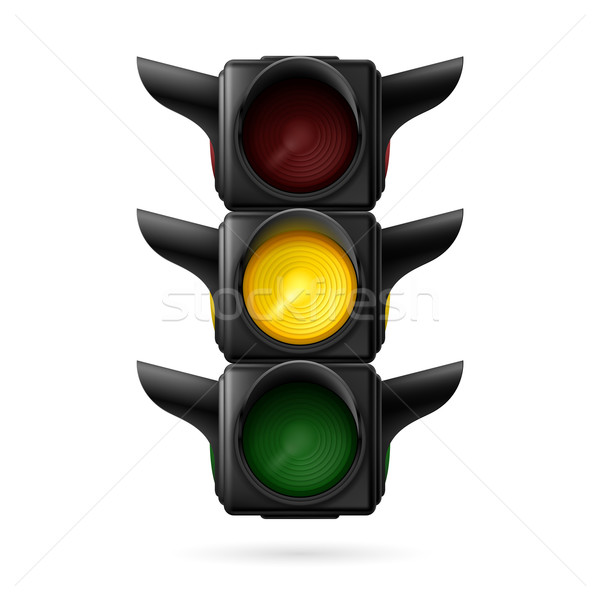 Traffic light Stock photo © dvarg