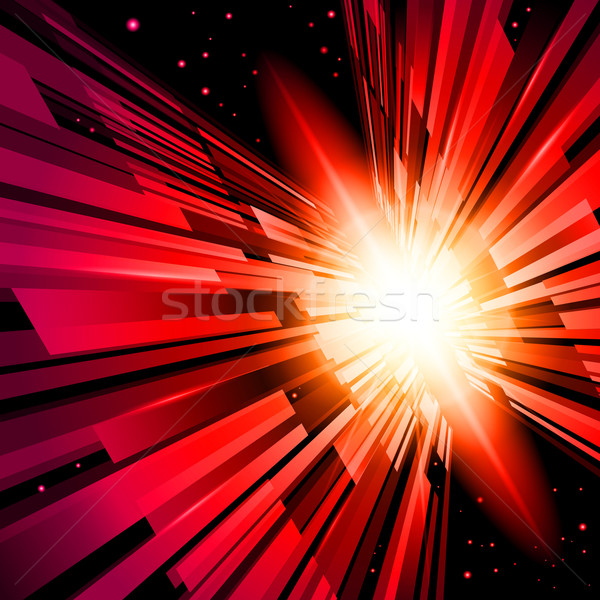 Red Radiance Stock photo © dvarg