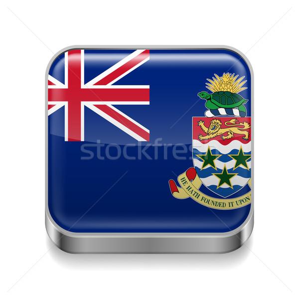 Metal  icon of Cayman Islands Stock photo © dvarg