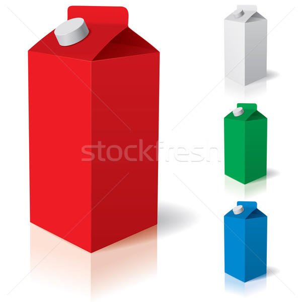 Milk pack Stock photo © dvarg