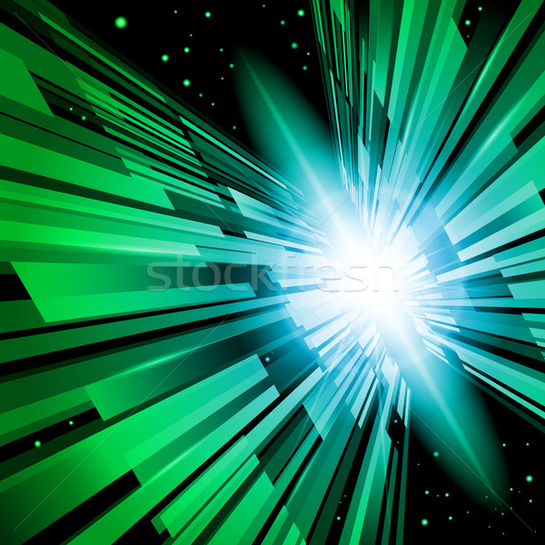 Green Radiance Stock photo © dvarg