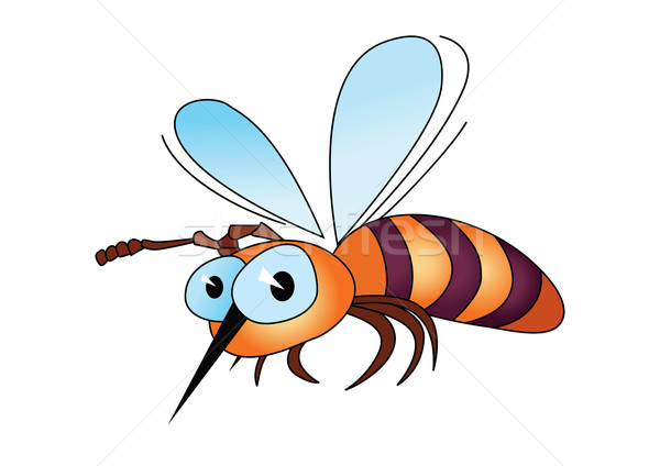 Cartoon bee Stock photo © dvarg